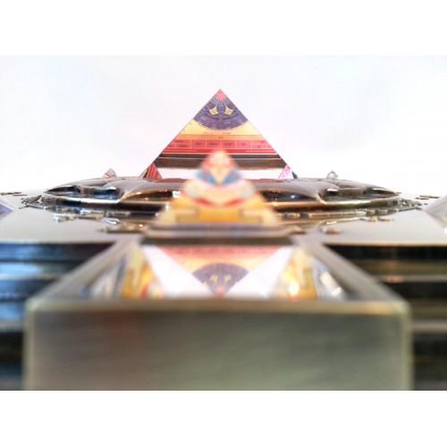Glass pyramids within Vasati Pyramid