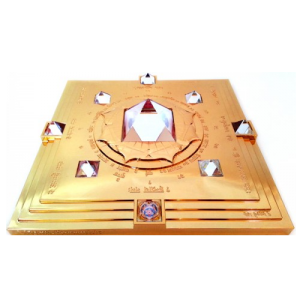 Gold Vasati Pyramid