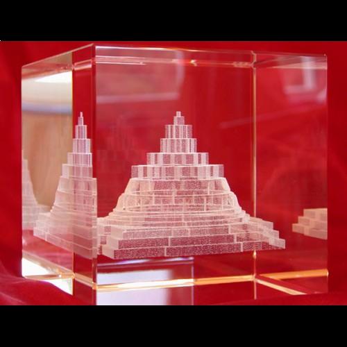 Meru Chakra Glass